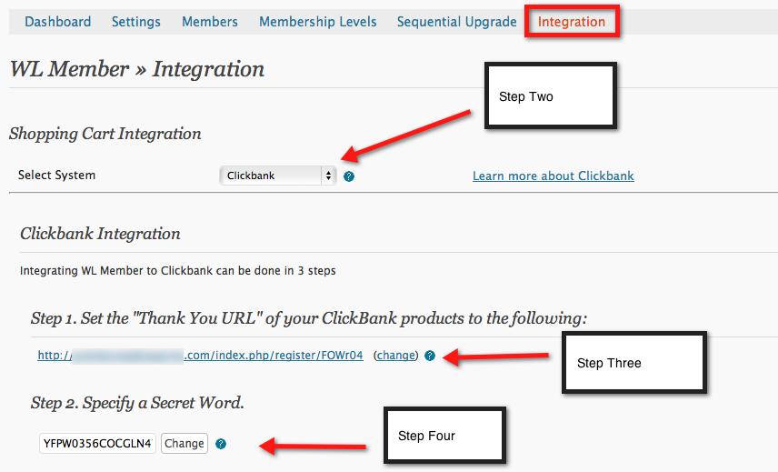 Integrate DigiResults With Wishlist Member